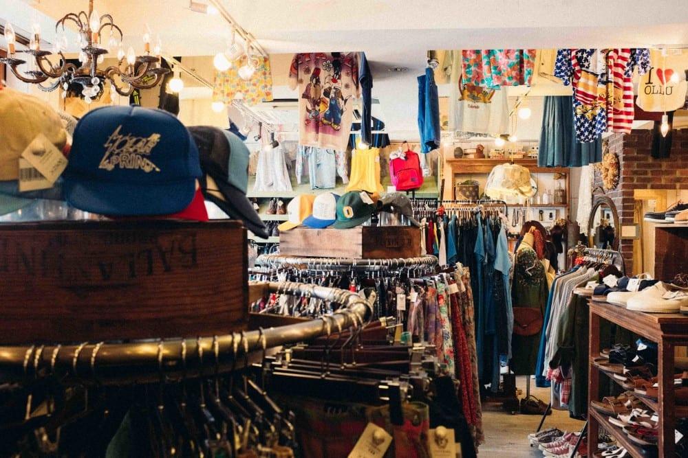 Vintage Jean Shopping in Tokyo
