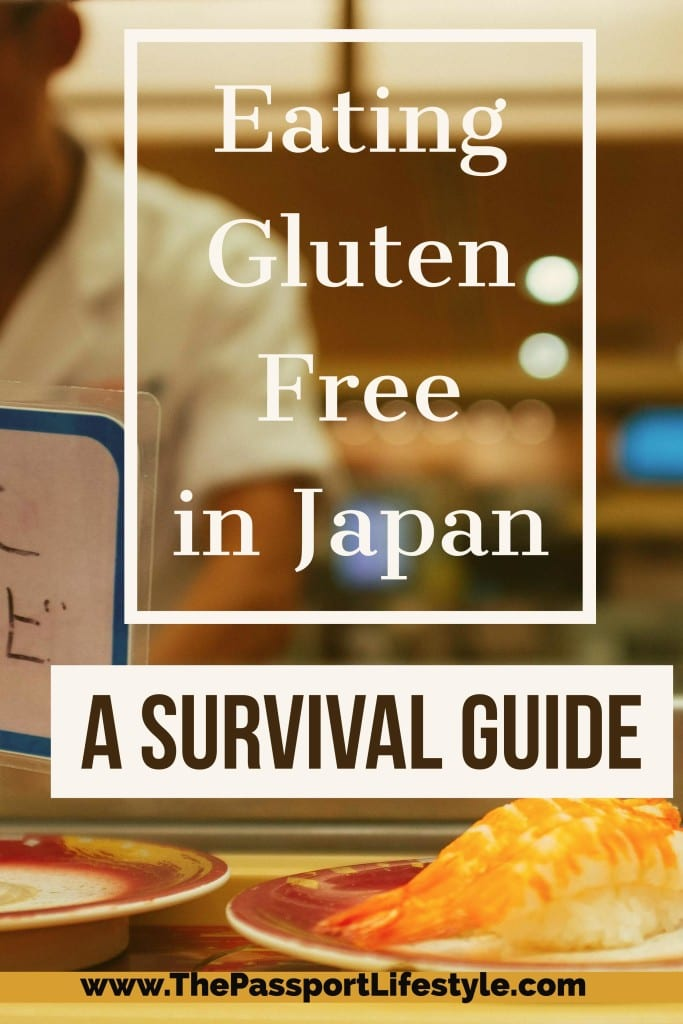 Eating Gluten Free in Japan, Gluten Free Guide Japan