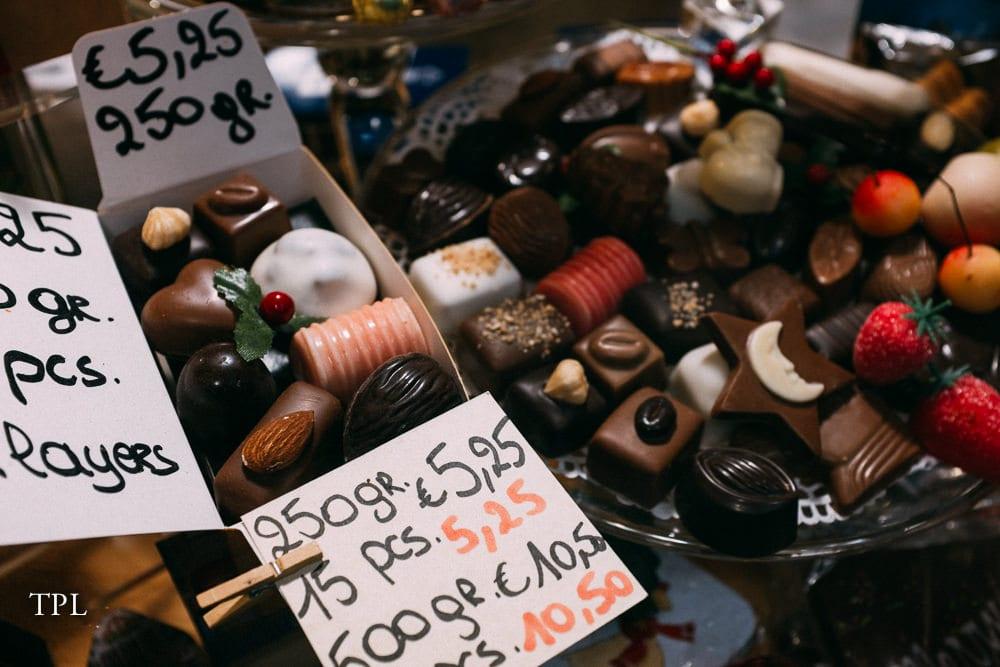 Chocolate shopping