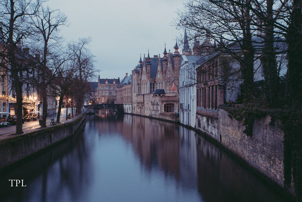 The Bruges Canal
