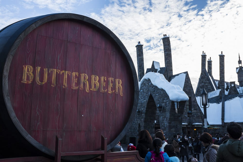 Harry Potter Japan: Butter Beer