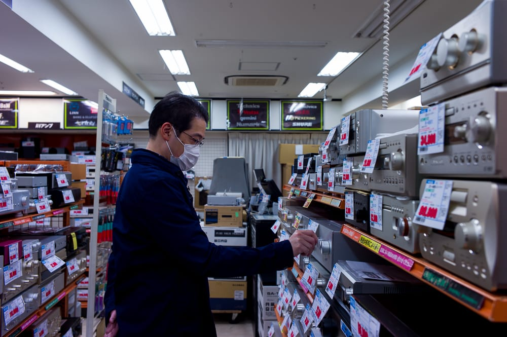 Record Shopping in Tokyo