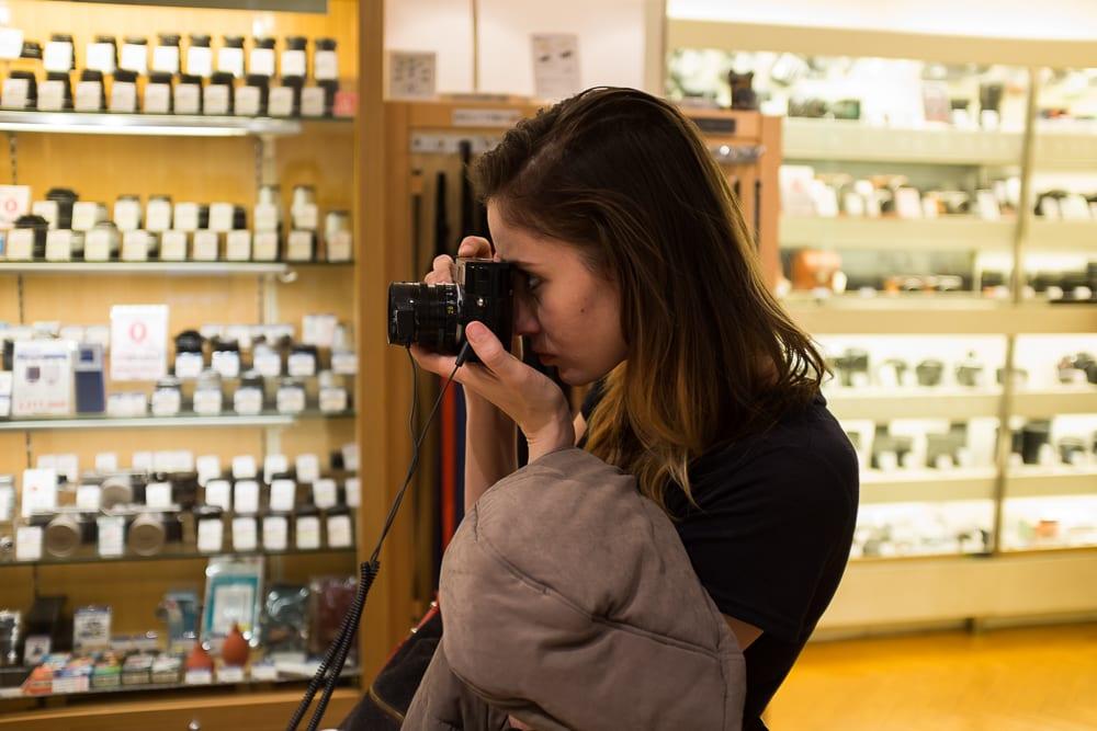 Camera Shopping