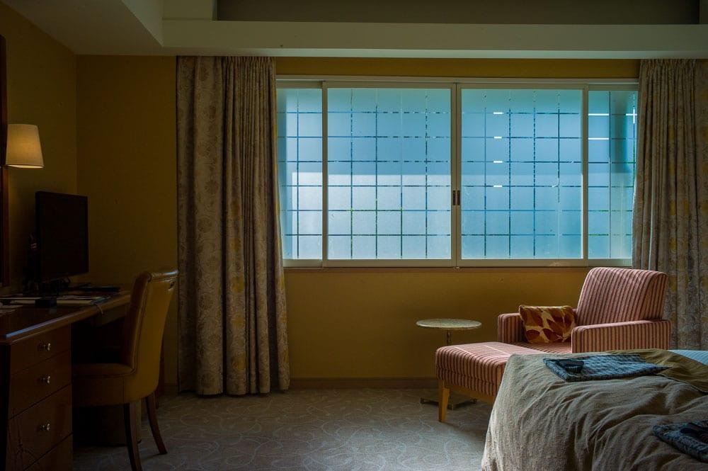 My room at The Hotel Okura Tokyo