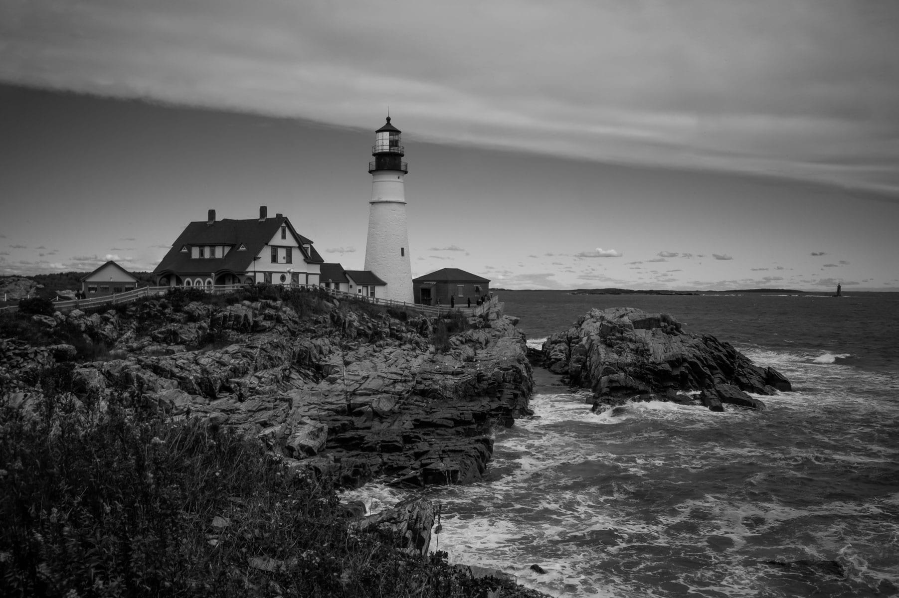 Portland Head lighthouse Maine