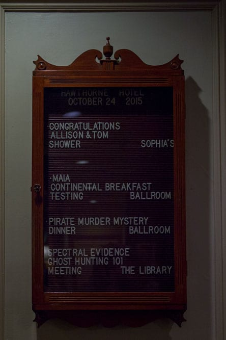 Spectral Evidence and Ghost Hunting Meeting Location: The Library