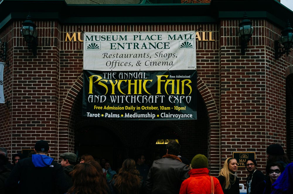 The Psychic Fair in Salem