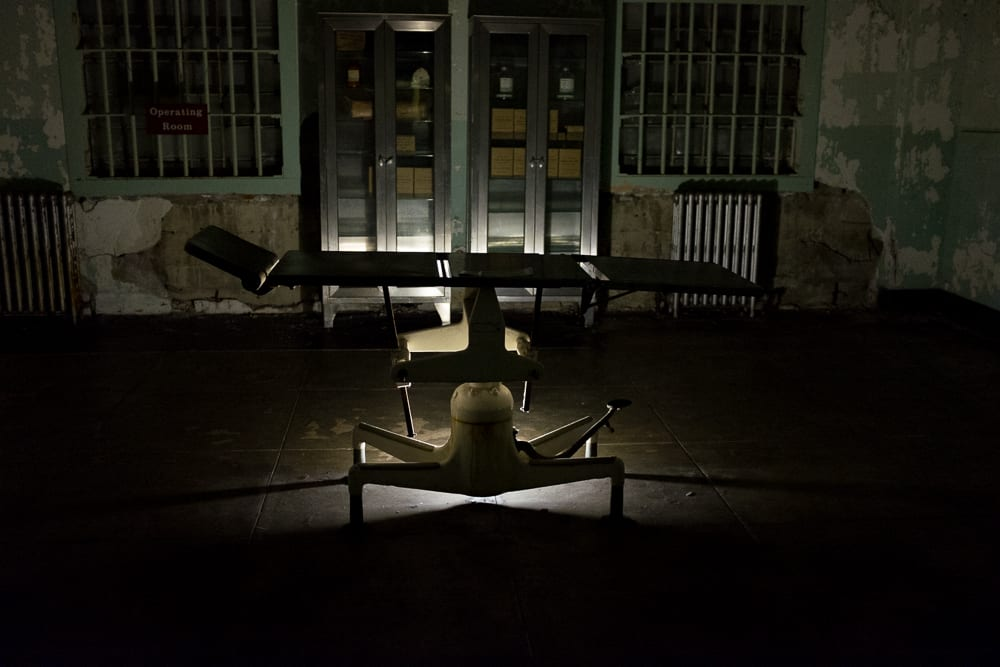 Touring Alcatraz At Night