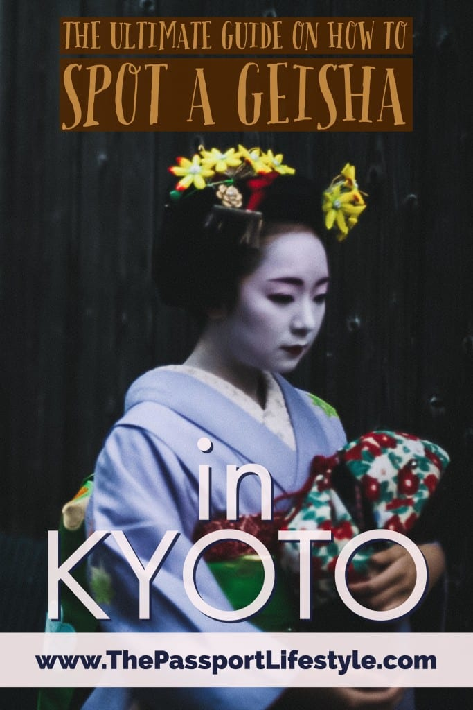 how to see a geisha in kyoto