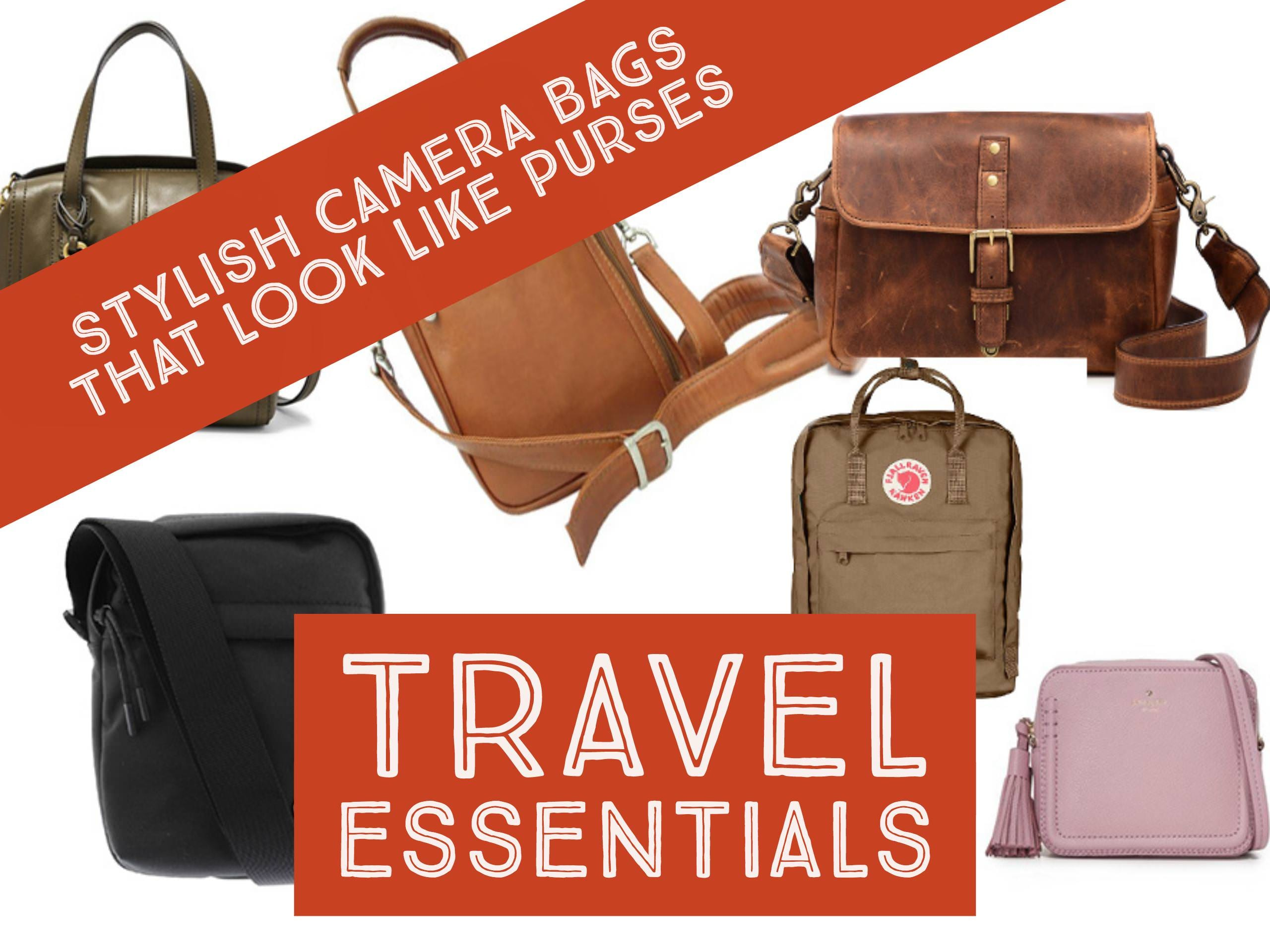 Camera Bags that Look Like Purses