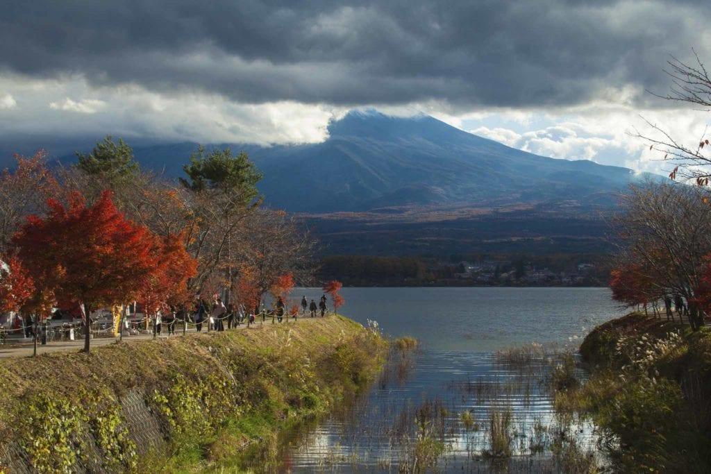 Fall in Kawaguchiko