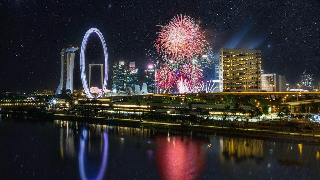 New Years in Singapore