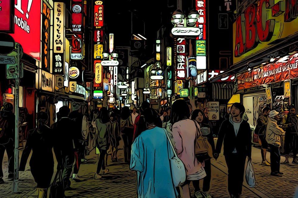 tokyo nightlfie