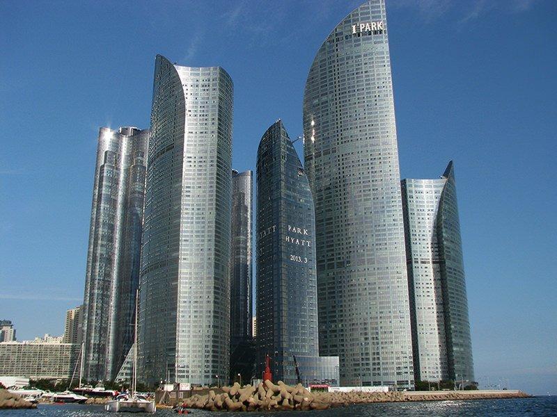 Marine City Architecture Busan