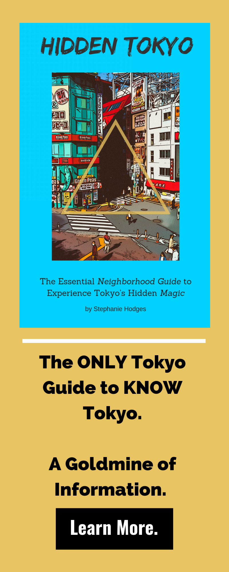 hidden tokyo neighborhood guide