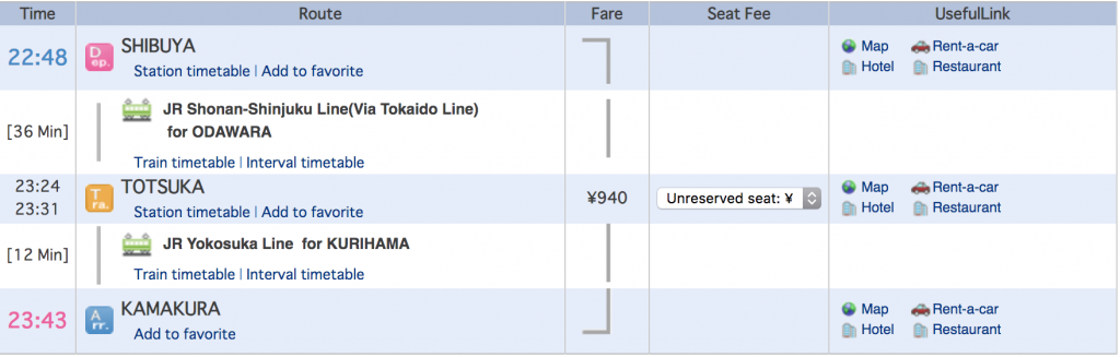 how to get from tokyo to kamakura