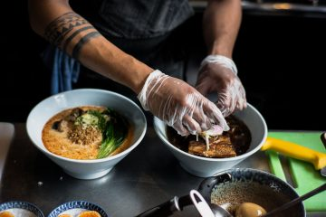 vegan ramen in tokyo